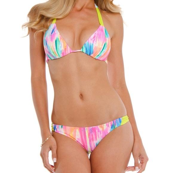 c7175a85af12d B. Swim Swim   Nwt B Beach Cruiser Bikini In Gleam L   Poshmark